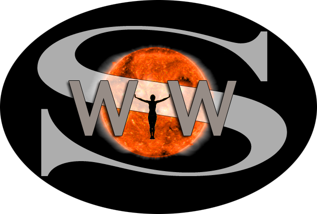 Space Weather Woman – Dr. Tamitha Skov Logo