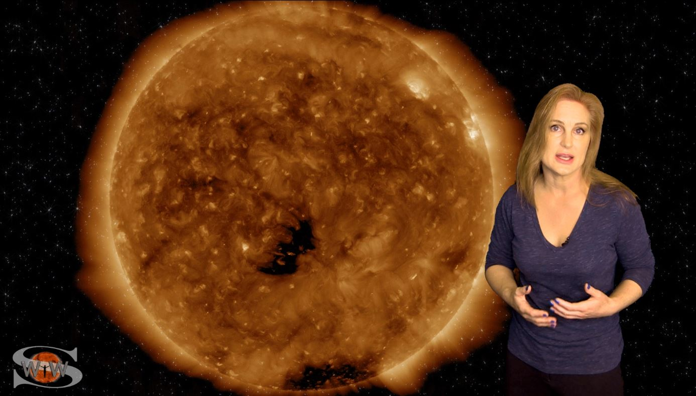 Fast Solar Wind Coming in Waves